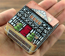 Mini Leisure Town hand-operated type music box home decoration musical box for kids girls women wedding decoration gift