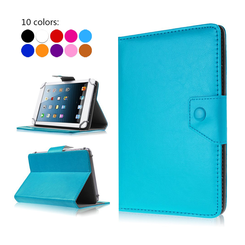 For Huawei MediaPad 7 Vogue/7 Lite Tablet Case 7 inch Universal Leather Flip Stand Cover For huawei mediapad t3 7 Cases+3 gifts