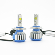 Modifygt T1 H4 led 70W 7200LM 6000K 12v H1 H3 H7 H11 9005 HB3 9006 9007 light headlight car accessories styling