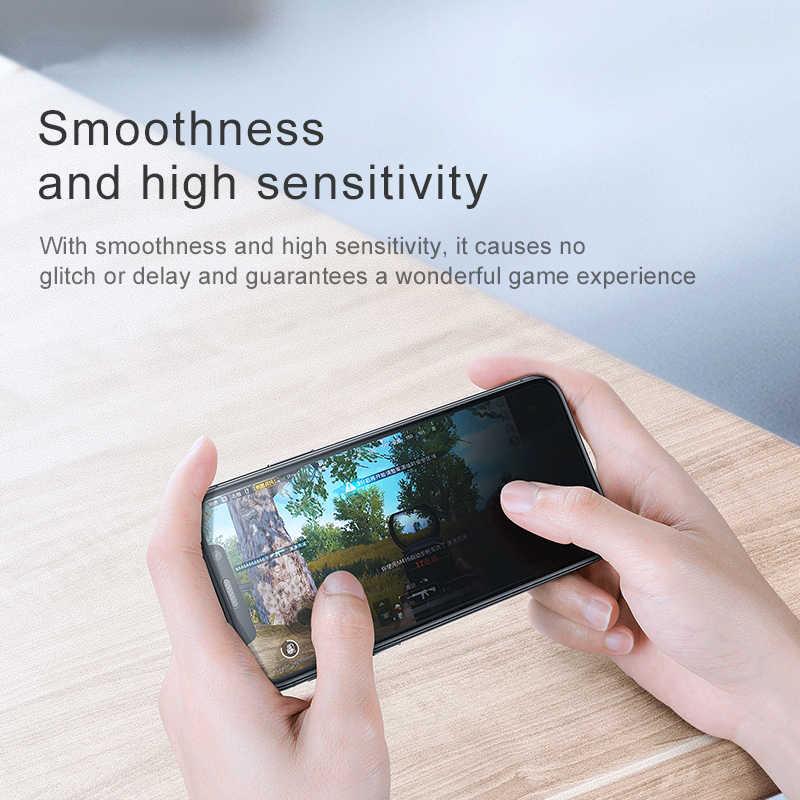 واقي شاشة من Baseus لحماية الخصوصية من الغبار لأجهزة iPhone Xs Max X S R Xr Xsmax 0.3 مللي متر واقي من الزجاج المقوى