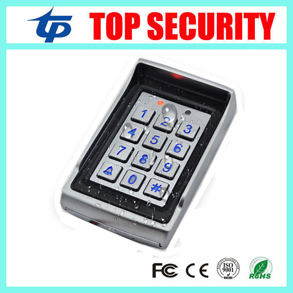 waterproof door access control system 125KHZ RFID card standalone access controller 1000 users card reader weigand reader door access control without software 125khz rfid card metal access control reader with 180 280kg magnetic lock