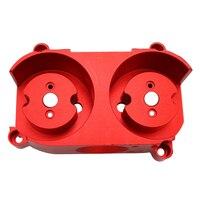 Artefakt Mod Arbeitet Aluminiumlegierung Universelle Geändert Flache Schwungrad Käfig Set für Nerf Stryfe/Rapidstrike-Rot