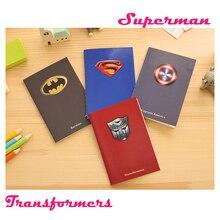Креативные блокноты Супермена, Бэтмена, бизнес-дневник, офисный блокнот, Эсколар, подарок для детей, блокнот s Memos agenda