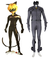 Miraculous Tales Of Ladybug And Cat Noir Adrien Agreste A K A Cat Jumpsuit Anime Cosplay