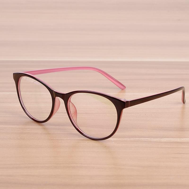 Kottdo Oval Women Men's Cat Eye Glasses Prescription Eyewear Frame Female Elegant Optical Glasses Frames Spectacle Frame Goggles