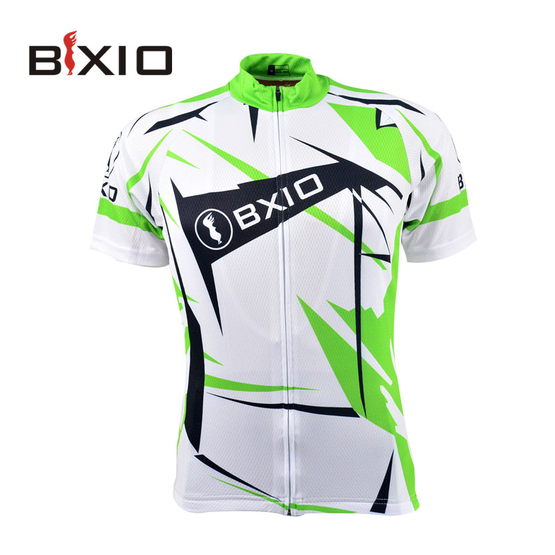 Professional Cycling Jersey Shirts MTB Cycling Clothes Quick Dry Men Sports  Green Racing Bike Ropa Ciclismo BX-0209W031-J 93630a9d6
