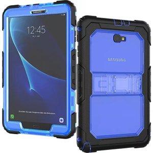 Image 3 - Kid Fall für Samsung Galaxy Tab EINE A6 10,1 2016 T580 T585 SM T585 T580N Tablet Stoßfest Heavy Duty Funda Abdeckung mit Ständer Hang