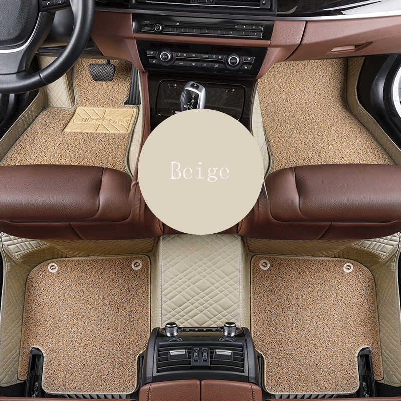 WLMWL tapis de sol de voiture pour Volvo tous les modèles s60 s80 c30 s40 v40 v60 xc60 xc90 xc70 tapis de voiture style voiture couvre tapis de sol