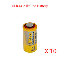 10pcs/lot 4LR44 Primary Dry Batteries 476A L1325 6V Alkaline Battery Cells Car Remote Watch Toys Calculator Drop Ship