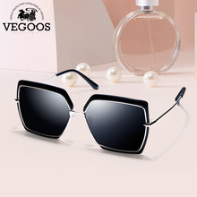 VEGOOS Sunglasses Women Polarized Modis Vintage Overized Sun Glasses UV400 Protection with Case Lentes de sol Mujer 6136