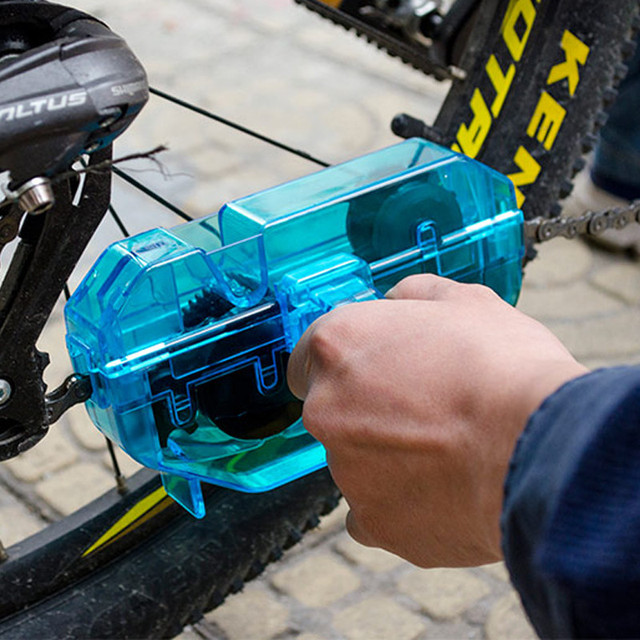 SAHOO Bicycle Chain Cleaner Tools Kit Cycling Road Mountain Bike MTB Cleaning Brushes Wash Scrubber Accessories