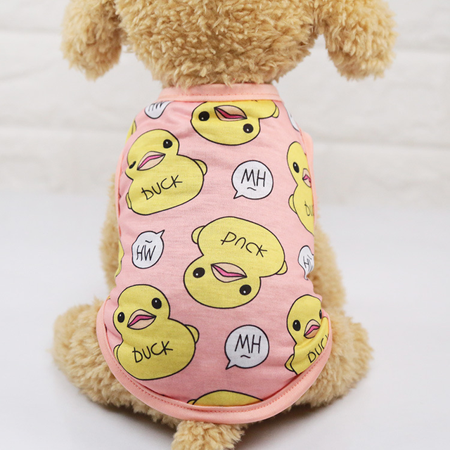 Clothing Cute Small Dogs Summer Shirt  My Pet World Store