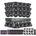 ANNKE 24CH 720 P HDD AHD DVR Открытый ИК День Ночь CCTV Камеры Системы Безопасности