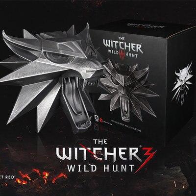 The Witcher 3 sauvage chasse Geralt de Rivia loup film Anime Figure PVC Collection modèle jouet figurine d'action pour amis cadeau