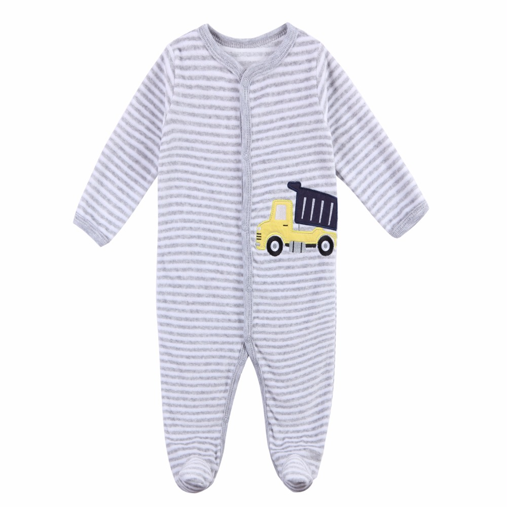 Baby Rompers Clothing fleece Cotton Long Sleeved Comfortable Newborn Baby Pajamas baby boy clothes Set Kid Jumpsuit mother nest 3sets lot wholesale autumn toddle girl long sleeve baby clothing one piece boys baby pajamas infant clothes rompers