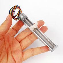 Dc 4-9 В 500мА 2 фазы 4 провода привода шаговый двигатель винт с гайкой слайдер Шаг Угол 18 градусов микро шаговый двигатель