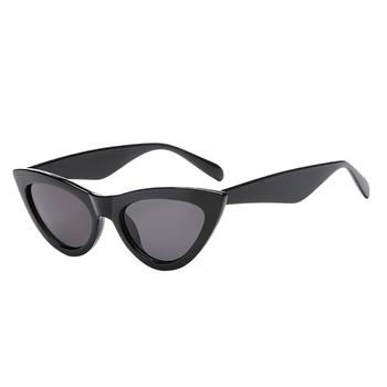 Okulary przeciwsłoneczne damskie Retro Vintage kocie oko Unisex okulary przeciwsłoneczne raper Grunge rama UV400 okulary okulary ochronne okulary przeciwsłoneczne damskie tanie i dobre opinie WOMEN Z tworzywa sztucznego Stałe Sunglasses FRAMES Okulary akcesoria sunglasses women sunglasses men sexy sunglasses women