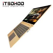 11.6 inch Multi Touch laptop 4GB RAM 160GB Storage Intel J3355 metal notebook computer iTSOHOO ultrabook metal(China)