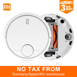 EU Version Original XIAOMI Robot Vacuum Cleaner Smart Planned Type ASPIRADOR WIFI App Control Auto Charge LDS Scan Mapping
