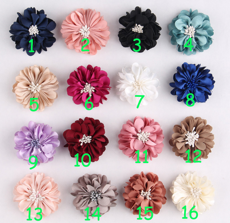 new arrival 5cm Paris chiffon  Flowers felt back,Fabric Flower  DIY, Hair Accessories girl hair clip  garment material 50ps/lot new arrival 30cm red millinery black imitation sinamay fascinator base with lace party diy hair accessories cocktail headpieces