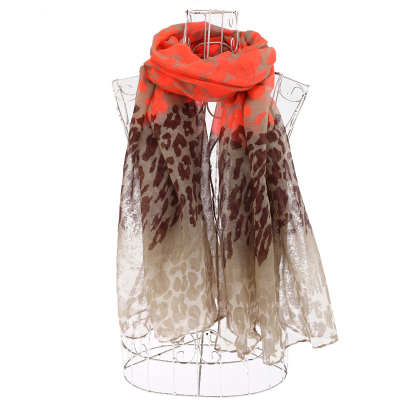 Hot Sale Women Mosaic Color Print Scarf Leopard Pattern Scarves And Shawls For Women Wrap Hijab Scarf 10pcs/Lot