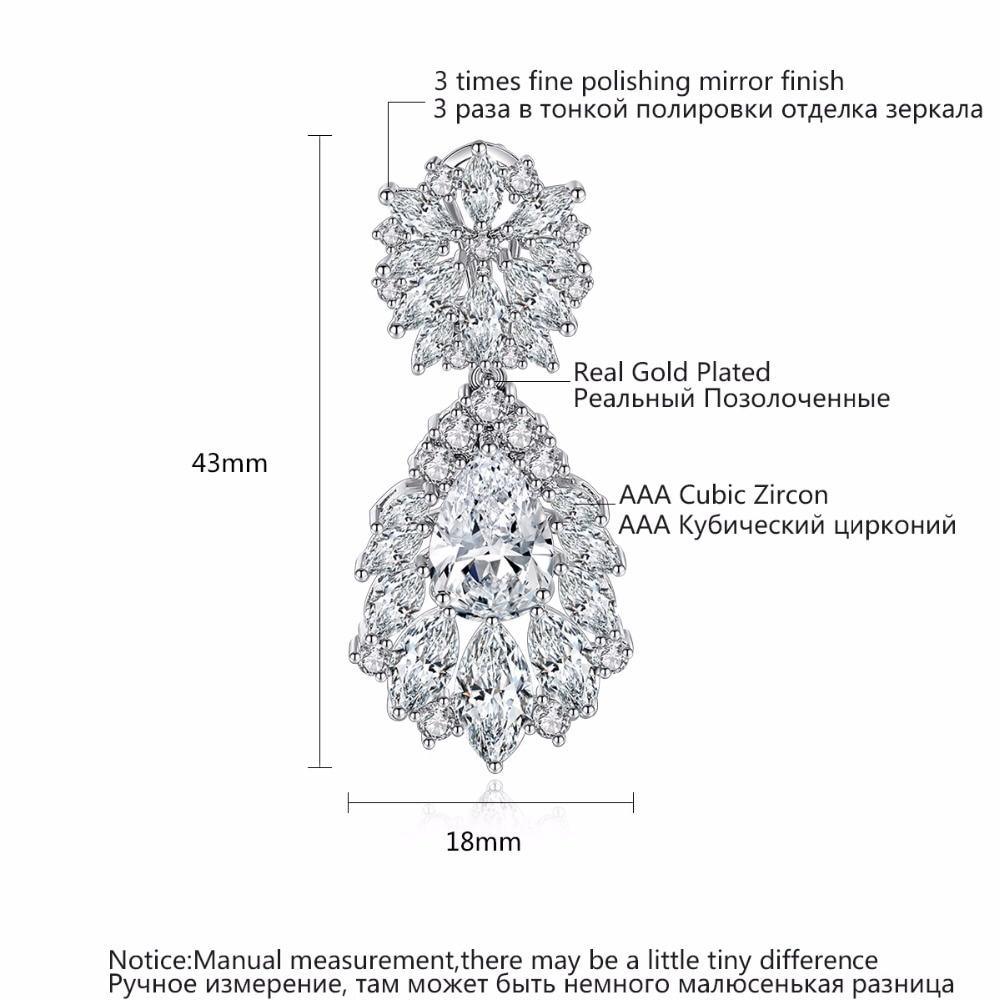 Luoteemi Grosir 2016 Perempuan Anting Mode Mulia Pernikahan Jewelry - Perhiasan fashion - Foto 6