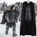 Men's Halloween Costumes Game of Thrones Jon Snow Cosplay Costume