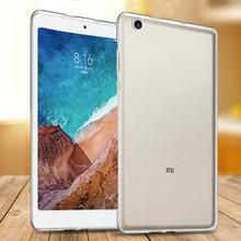 """2018 nueva Tablet caso de la cubierta para Xiao mi pad 4 mi Pad 4 Plus de 10,1 """", 360 suave protector de la cubierta del TPU del claro Slim casos"""