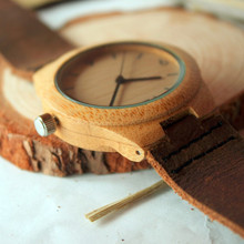 BOBO BIRD Ladies bamboo Watches Top Luxury Women Wooden Quartz Watches for Ladies Gifts Wristwatches relogio feminino C-A44