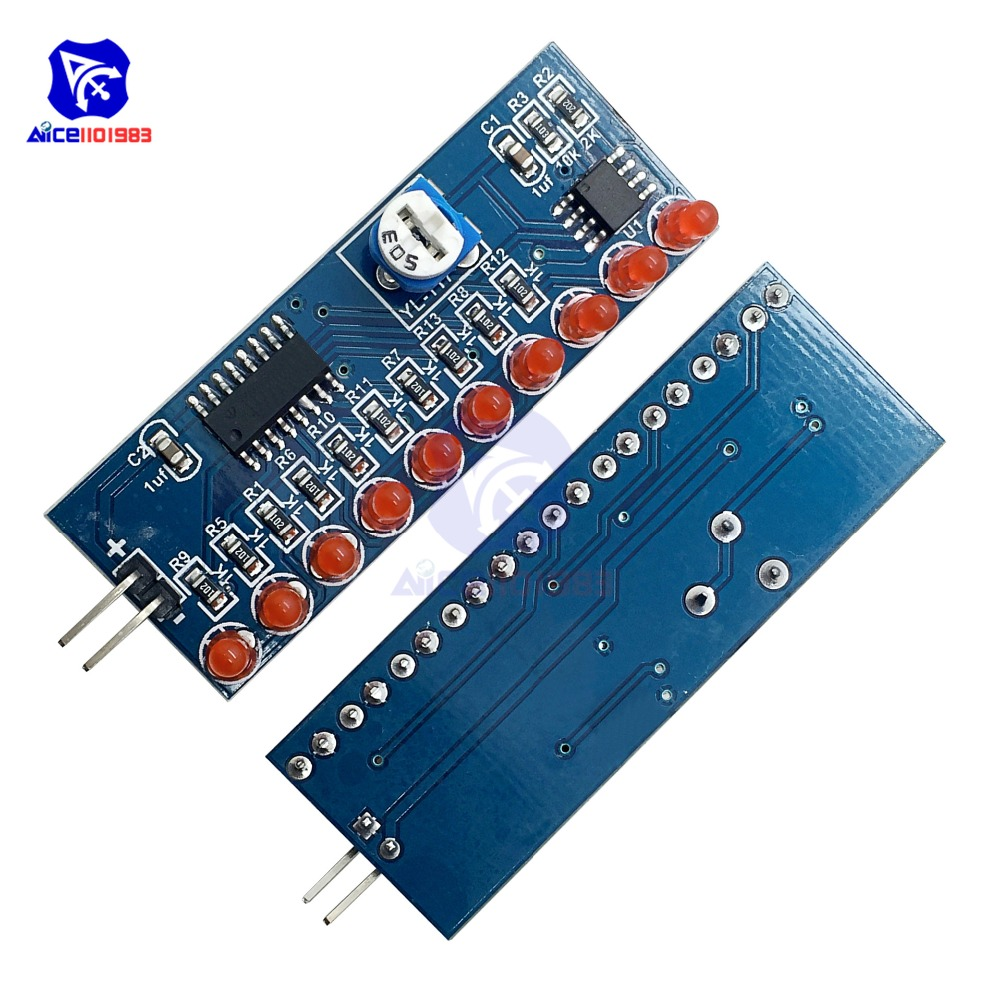 Ne555 Cd4017 Ne555 Driver Water Powered Board Circuit Water Flowing Light Led Electronic Module Diy Kit Running Light Drive Special Summer Sale Electronic Components & Supplies Active Components