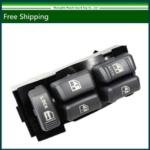 e2c Truck Electric Power Window Master Switch for 1999-2005 GMC Chevrolet Cadillac Oldsmobile OE#: 15151360/ 19244658