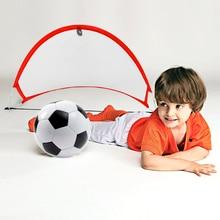 цена MrY 1 Piece Foldable Football Net Goal Gate Extra-Sturdy Soccer Ball Practice Gate Children Students Soccer Goal Outdoor Sports онлайн в 2017 году
