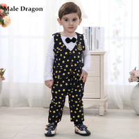 Cheap Baby Boy Clothes Baby Boys Suits Sets Formal Gentleman 2015 Autumn For Wedding Full Print