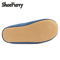 ShoeFurry Winter Men Home Slippers Casual Shoes Warm Plush Male Indoor Slippers Cotton Shoes Antiskid Mute Man Bedroom Slippers 4