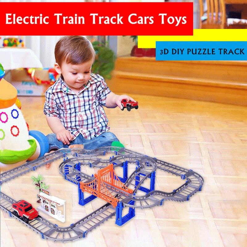 MylitDear New 2 Lodra Colorful Colorful Rail Style Layer Multilayer - Makina lodër për fëmije - Foto 2