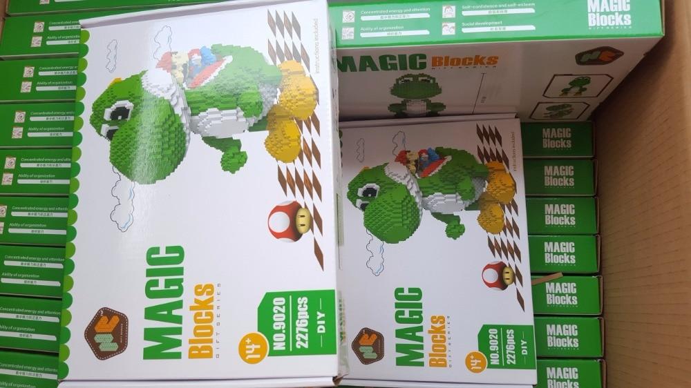 Blocos de micro anime brinquedos juguetes Box Size : Opp Bag