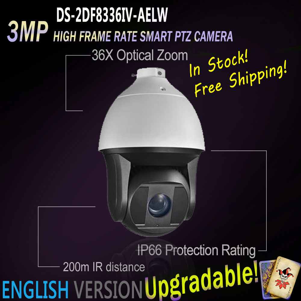 Hikvision PTZ Free Shipping DS 2DF8336IV AELW English