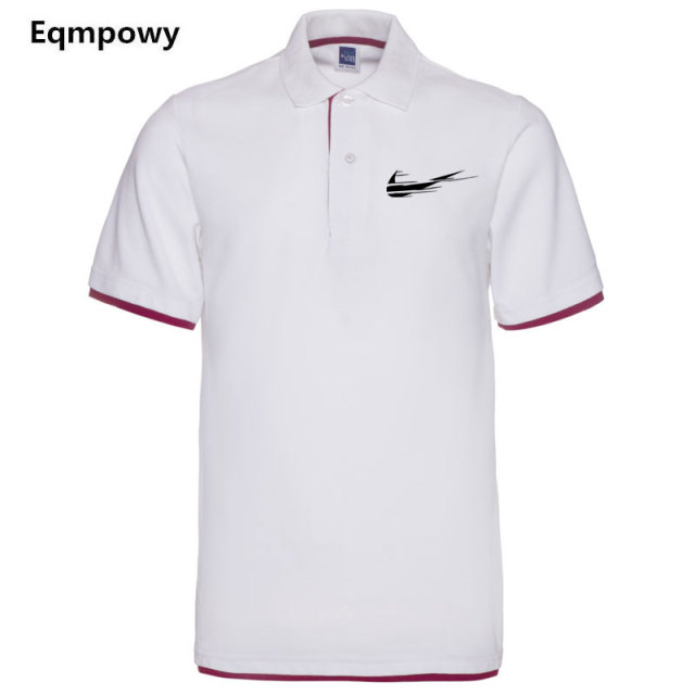 Eqmpow Brand clothing New Men Polo Shirt Men Business & Casual  male polo shirt Short Sleeve breathable polo shirt  Man's choice