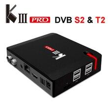 MECOOL KIII Pro Android TV Box Satellite TV Receiver DVB S2 T2 DVB-C 3G 16G Amlogic S912 4K 3D Media Player AC Wifi 1000M LAN