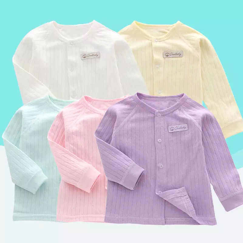 Cardigan Newborn Spring Girl Baby Infant Autumn And Cotton Shirt Thin-Section 0-2-Years-Old
