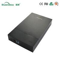 Plastikowe USB 3.0 na SATA I II III 3.5 SATA HDD Enclosure DO USB 3.0 Dysk Twardy Przypadku Pole do 6 GBPS SSD Dysk Twardy Do Czytania prędkość