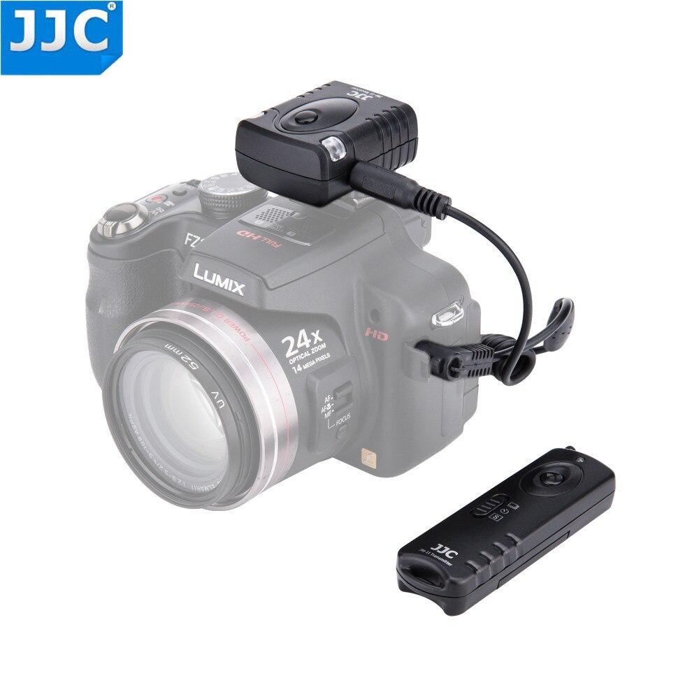 JJC Camera 433MHz Shutter Release RF Wireless Remote Control for PANASONIC DC-G9/DMC-FZ20/DMC-FZ20K/DMC-FZ20S/DMC-FZ30 wired remote shutter release for panasonic camera