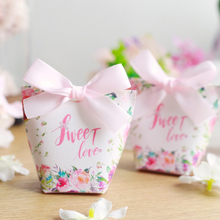 RMTPT 20pcs/lot sweet love gift bag wedding favors and gifts candy box babyshower birthday party favors paper bags for gifts цена и фото