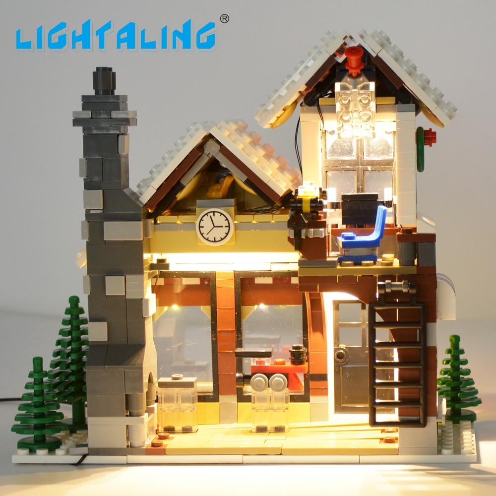 Lightaling Led Set Nur Licht Fr Creator Expert Winter Lego 10249 Exclusive Toy Shop Spielzeug Gebude Modell Kompatibel Mit