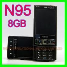 Original NOKIA N95 8GB Mobile Phone 3G 5MP Wifi GPS 2.8Screen GSM Unlocked Smartphone Russian keyboard Arabic Keyboard