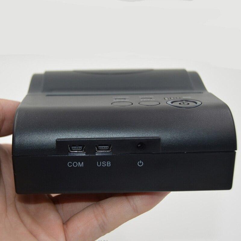 80mm bluetooth drucker thermische drucker thermische empfang drucker bluetooth android mini 80mm thermische bluetooth drucker 8001DD