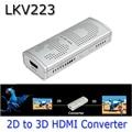 LKV223 Новый 2D в 3D HDMI Video Converter Box Для ТВ фильм Blue-Ray DVD Set-top Box 2D-3D ViewHD 1080 P Янтарный/Голубой 3D/SBS 3D