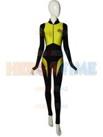 Negasonic Teenage Warhead Deadpool 2 Spandex V2 Superhero Costume Lady Deadpool Cosplay Costume With Belt