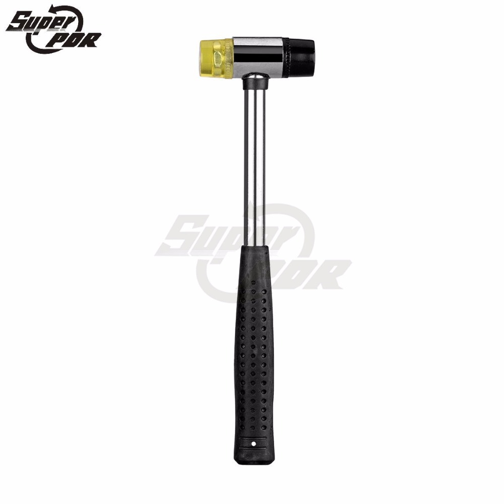 pdr tools rubber hammer car paintless dent removal tool brand new high quality auto body dent. Black Bedroom Furniture Sets. Home Design Ideas