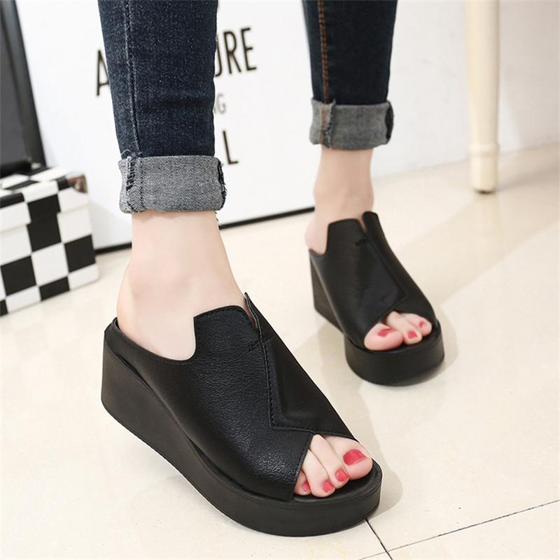 Women Flips Flops 2017 Summer Sandals Shoes High Heel Woman Slippers Fashion Wedges Platform Female Slides Shoes Woman Flat women sandals 2017 summer shoes woman wedges fashion gladiator platform female slides ladies casual shoes flat comfortable